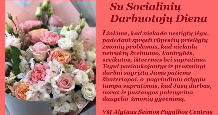Su Socialinių darbuotojų diena